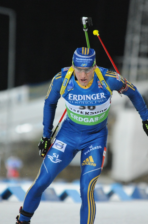 The winner Carl Johan Bergman